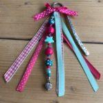 boekenlegger fuchsia roze turquoise cadeau kado groep 3 groep 4 kinderfeestje afscheidscadeautje juf verjaardag juf