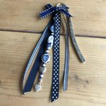 boekenlegger delfts blauw klomp cadeau kado juf detail 3