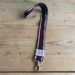 keycord aubergine stitch ideaal voor de huissleutel of fietssleutel cadeau kado
