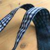 keycord jeans handig om je nek of lekker opvallend in je tas nooit meer je sleutels kwijt kado cadeau detail 3