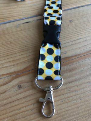 Keycord Retro nooit meer je sleutels kwijt met dit leuke keycord handig om je nek of opvallend in je tas cadeau kadootje-